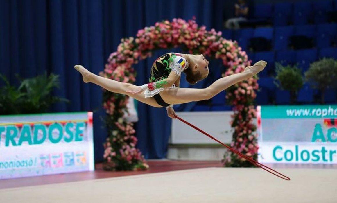Denisa Stoian va reprezenta România la Campionatele Europene de gimnastică ritmică!