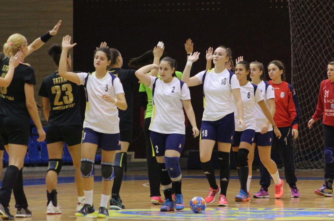 Echipa de handbal feminin va disputa dubla cu Iuventa Michalovce, din Cupa EHF!