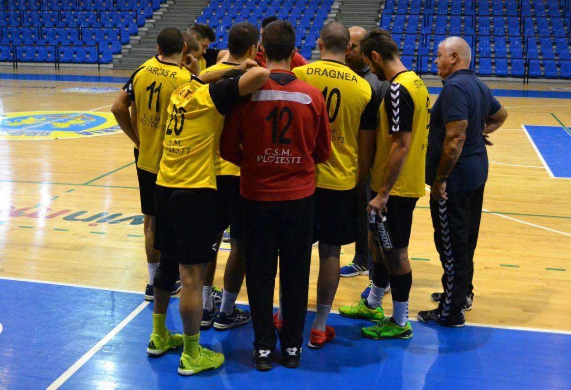 Echipa de handbal masculin joacă mâine cu CSM Bucureşti 2!