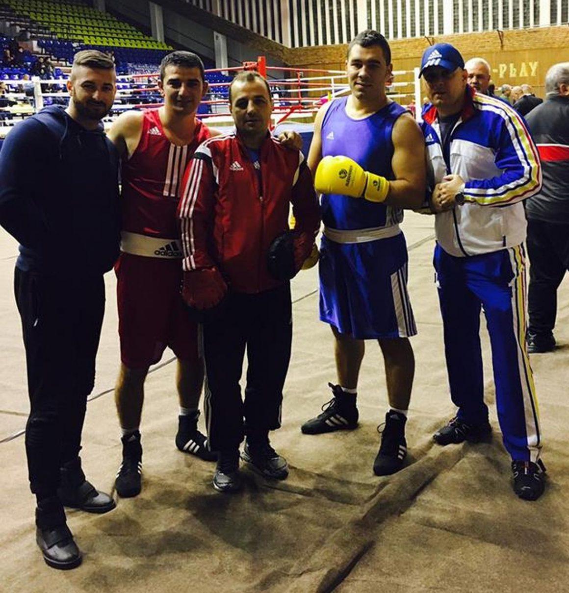 Boxerul Alexandru Gheorghe, campion naţional de seniori!