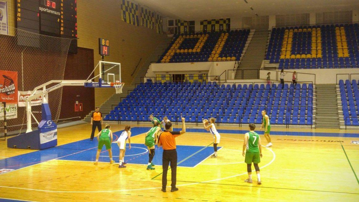 Echipa de baschet feminin, eşec la debutul în noul sezon al Ligii I!