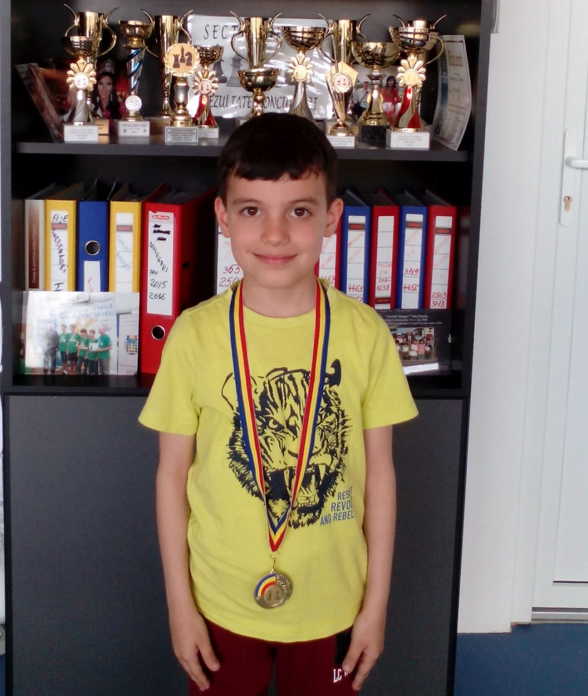 "Şahistul Rareş Anghel, medalie de aur la ""Cupa Caro""!"