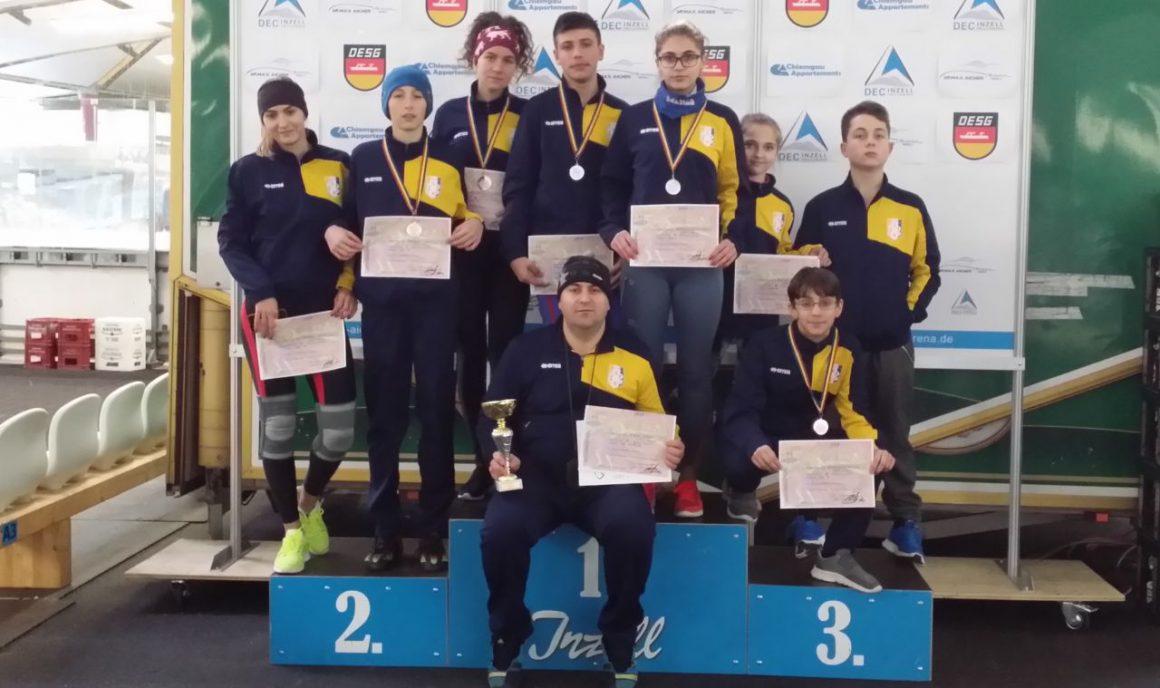 Patinatorii de la CSM Ploieşti, de 6 ori pe podium la Cupa României!