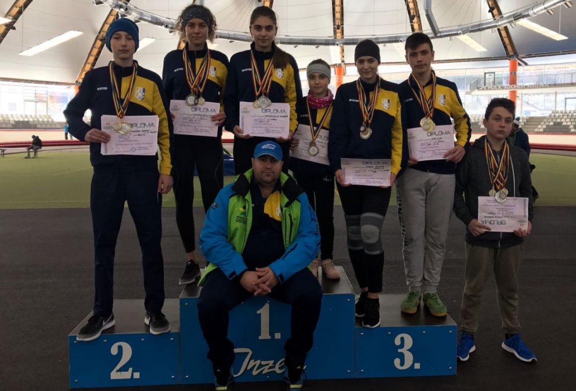 Patinatorii de la CSM Ploieşti, 28 de medalii la Campionatul Naţional de juniori!