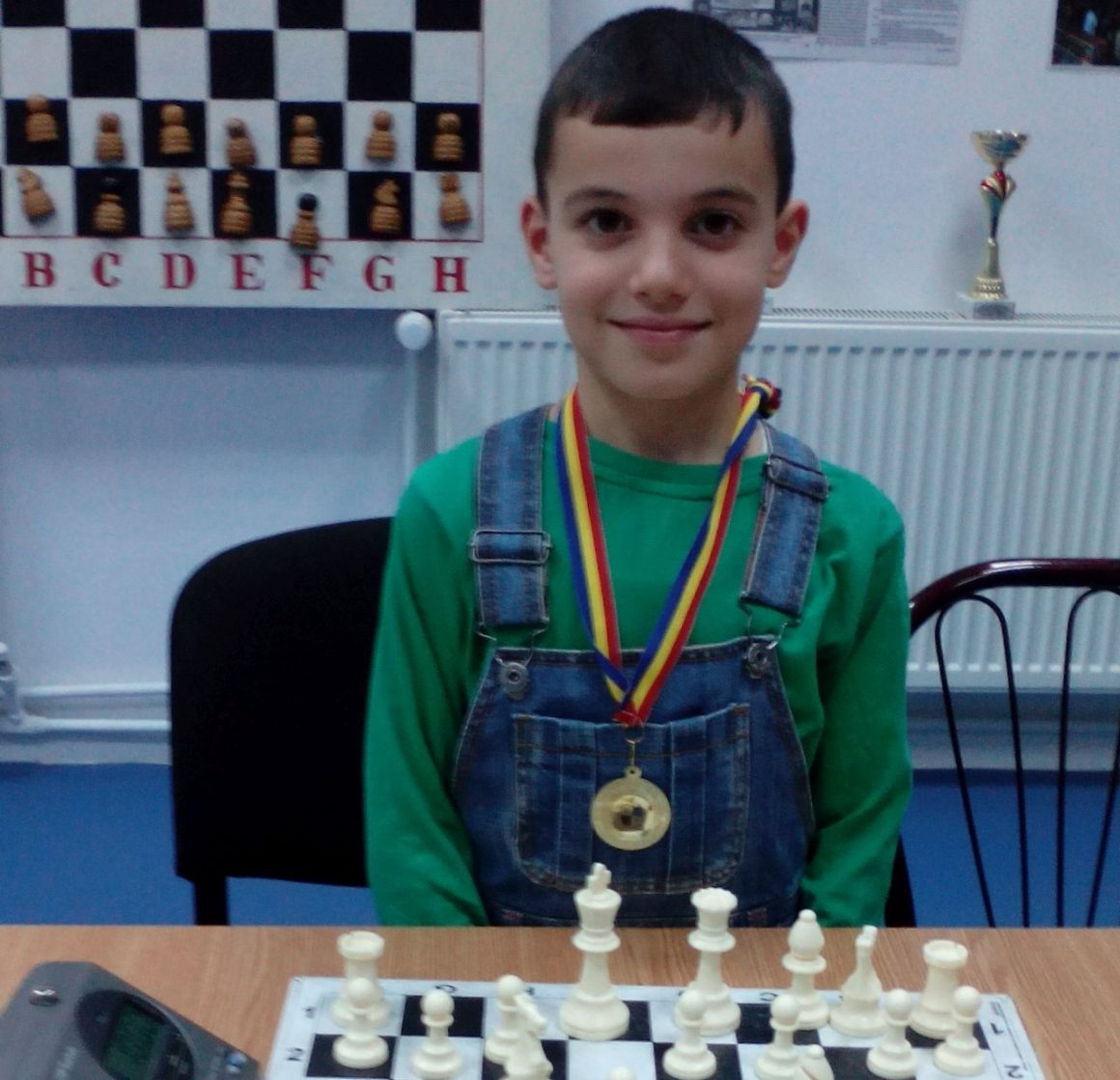 "Şahistul Rareş Anghel, argint la ""Veranda Mall Chess Contest""!"
