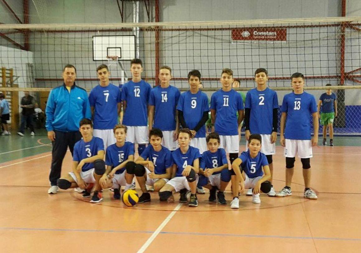 Echipa masculină de volei speranţe, locul al III-lea la turneul semifinal!