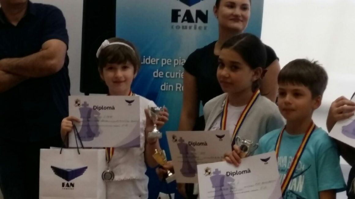 Ioana Marin, medalie de argint la Cupa Fan Courier la şah!