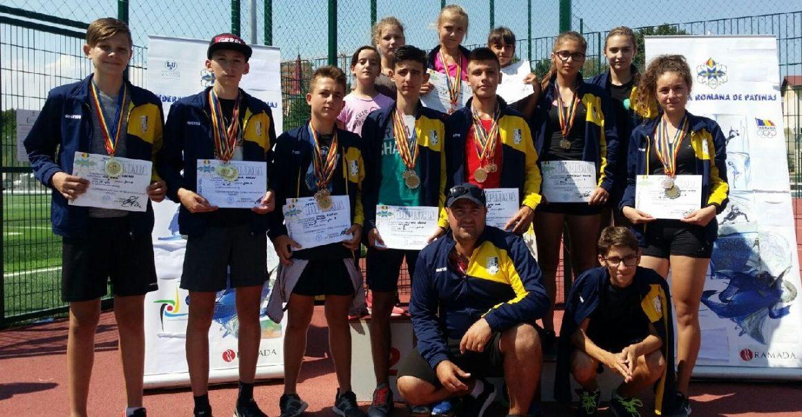 Patinatorii de la CSM Ploieşti, 42 de medalii la Cupa României şi Finala Campionatului Naţional!