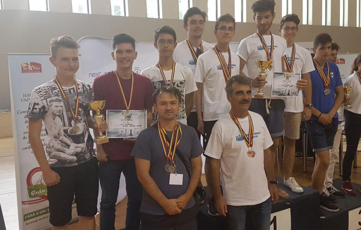 CSM Ploieşti, de două ori argint la Campionatul Naţional de Şah pe echipe!
