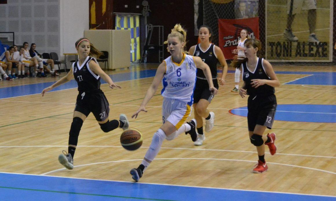 Prima victorie stagională în Liga I pentru echipa de baschet senioare!