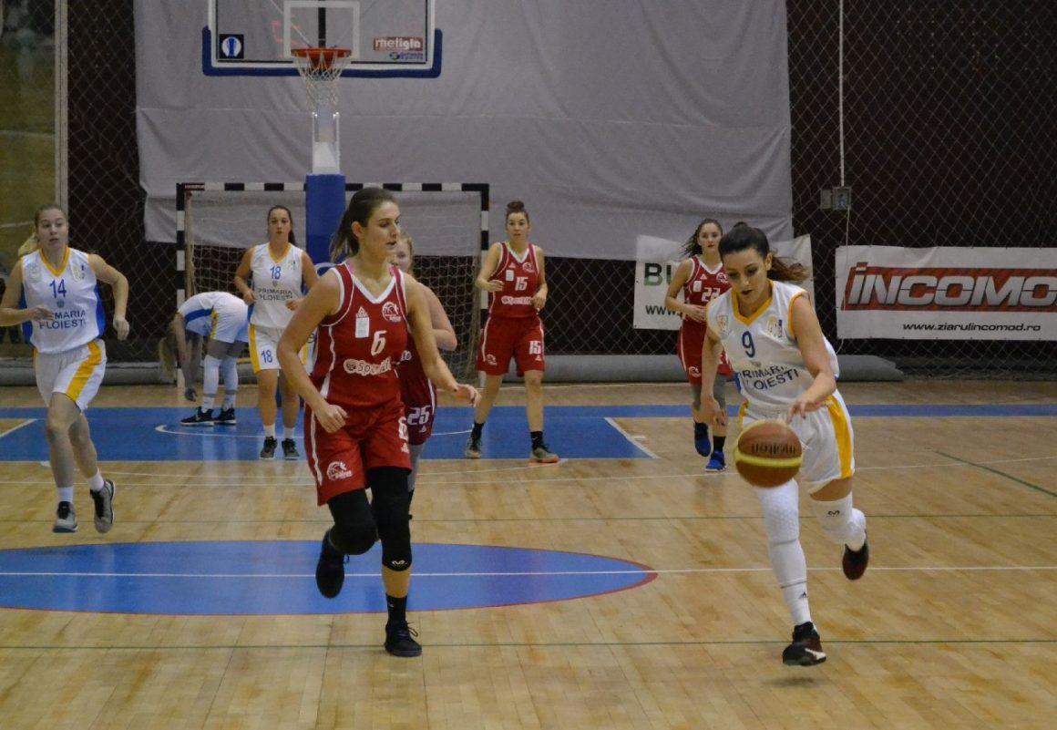 Două victorii şi echipa de baschet feminin merge în faza semifinală!