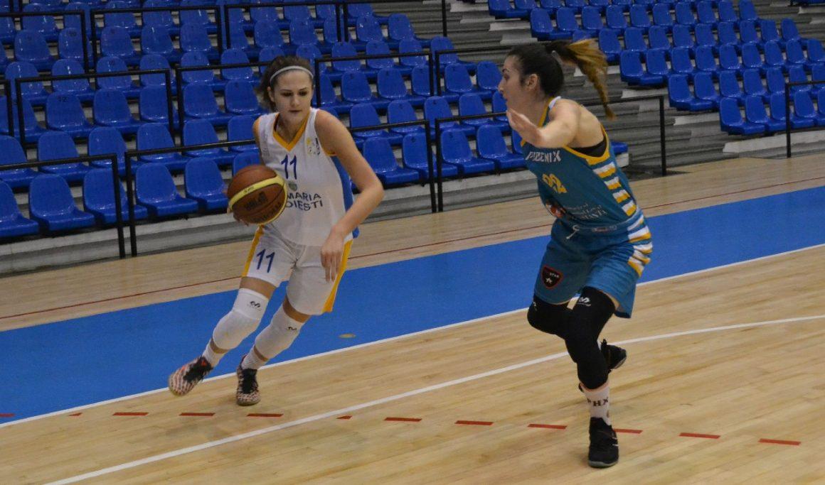 Debut cu stângul în faza semifinală pentru echipa de baschet feminin