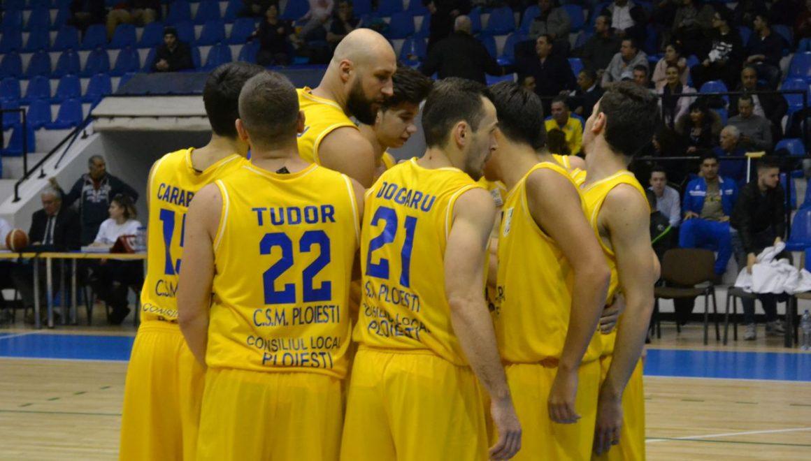 Start în faza semifinală pentru echipele de baschet seniori ale CSM Ploieşti!