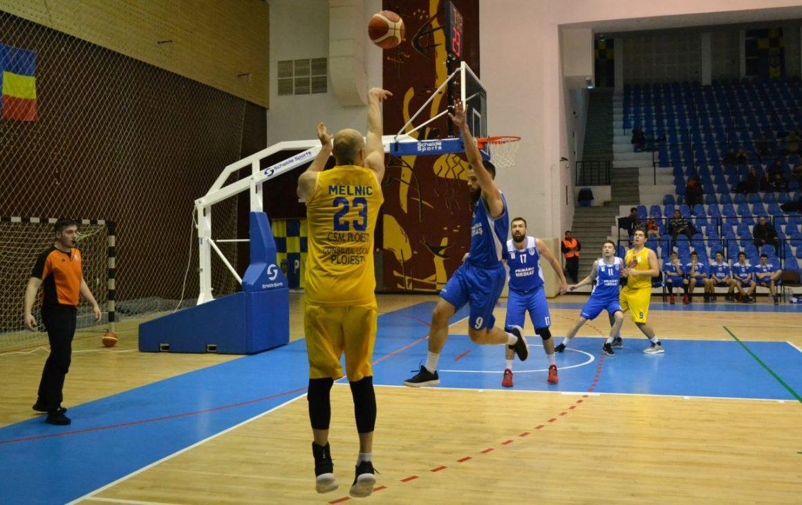 Baschetbaliştii, la prima victorie în faza semifinală: 94-66 cu CSM Mediaş!