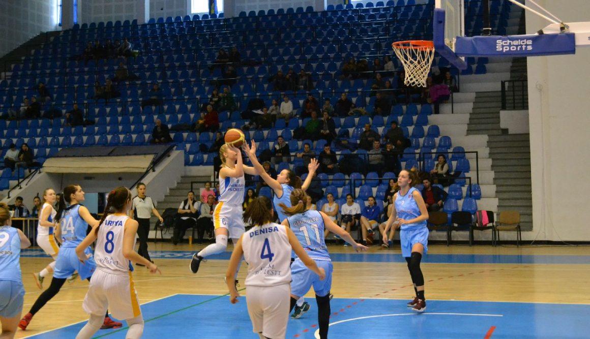 """Echipa de baschet feminin, victorie importantă la """"U18"""", cu CSŞ Sfântu Gheorghe!"""