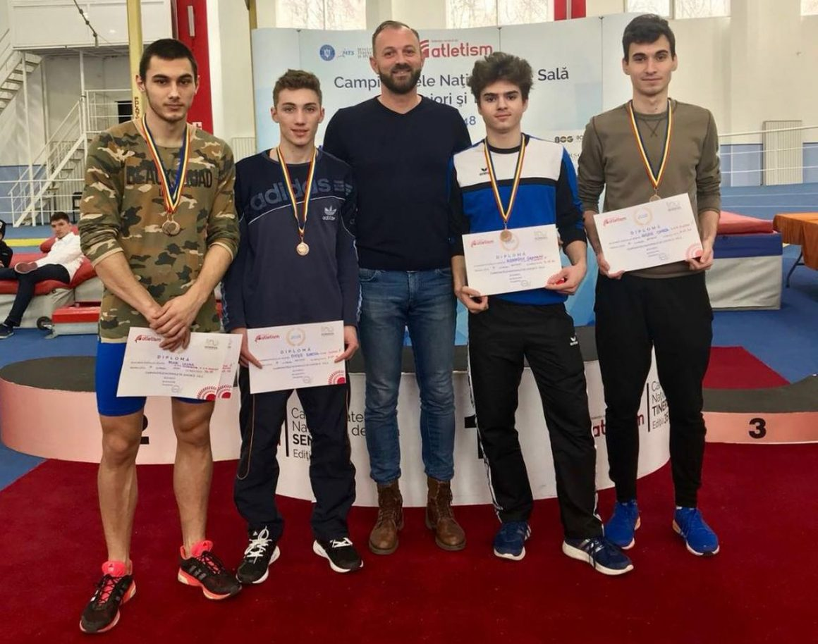 Atleţii de la CSM Ploieşti, două medalii de bronz la Campionatul Naţional rezervat Juniorilor 1!