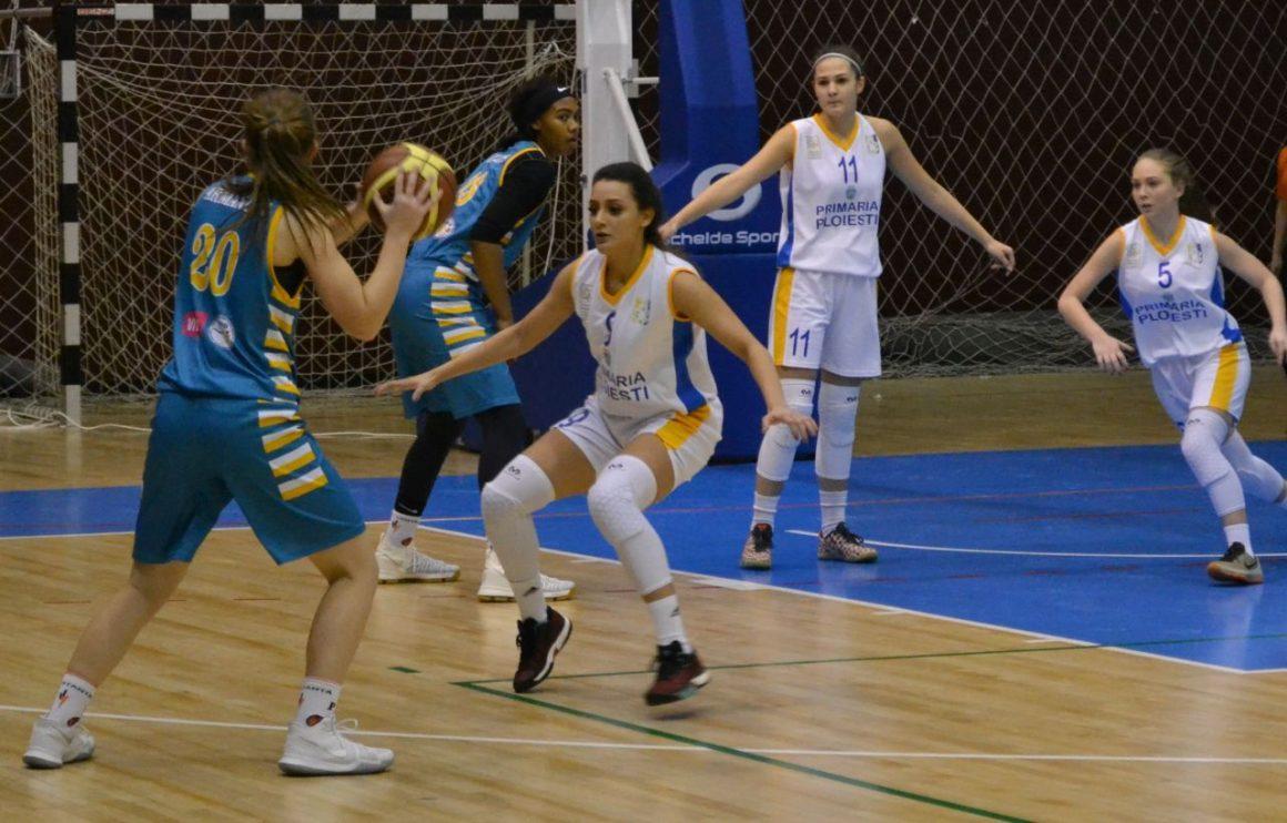 Program infernal: echipa de baschet feminin, patru meciuri în patru zile!