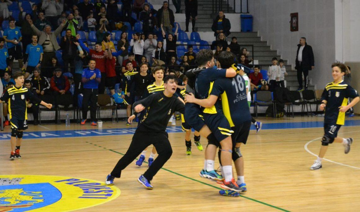 Weekend cu trei victorii şi două înfrângeri pentru echipele de handbal juniori!