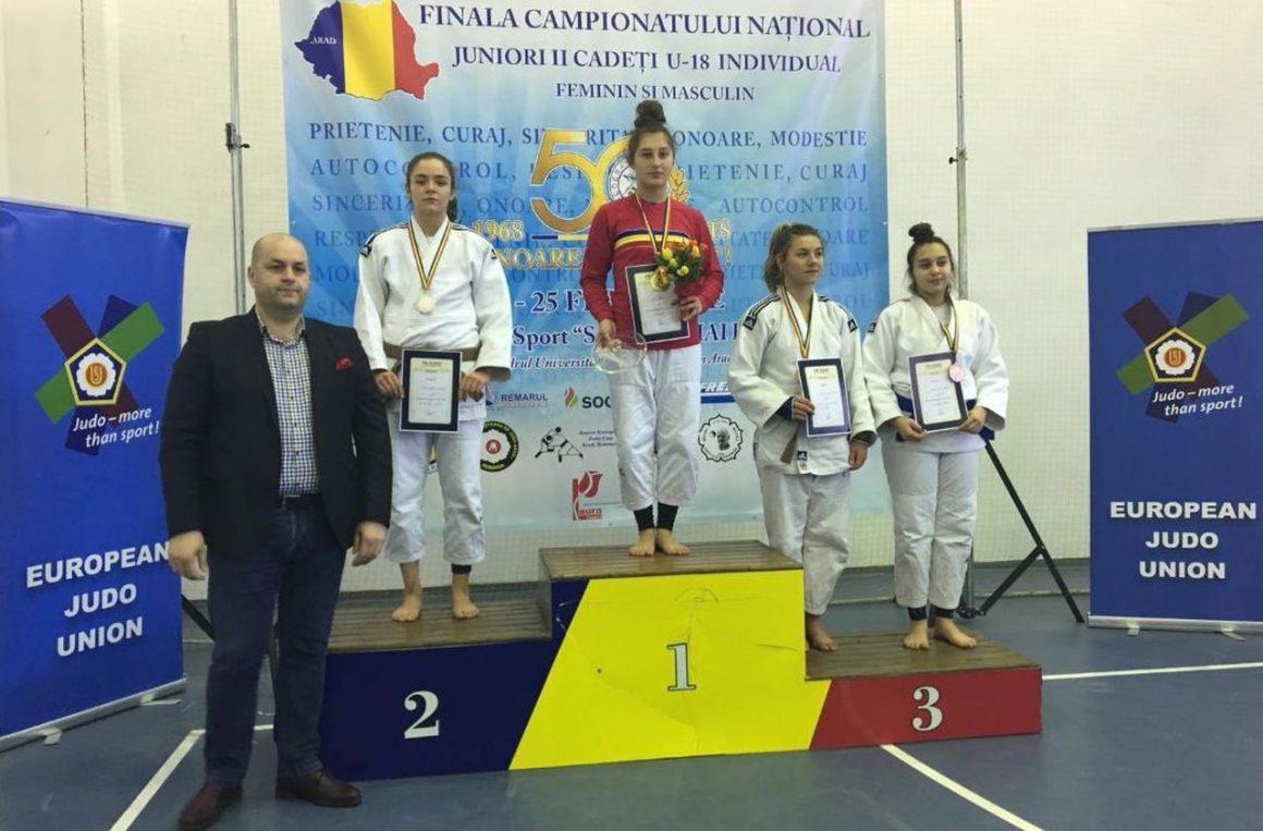 Judoka Diana Marcu, vicecampioană naţională la Juniori II!