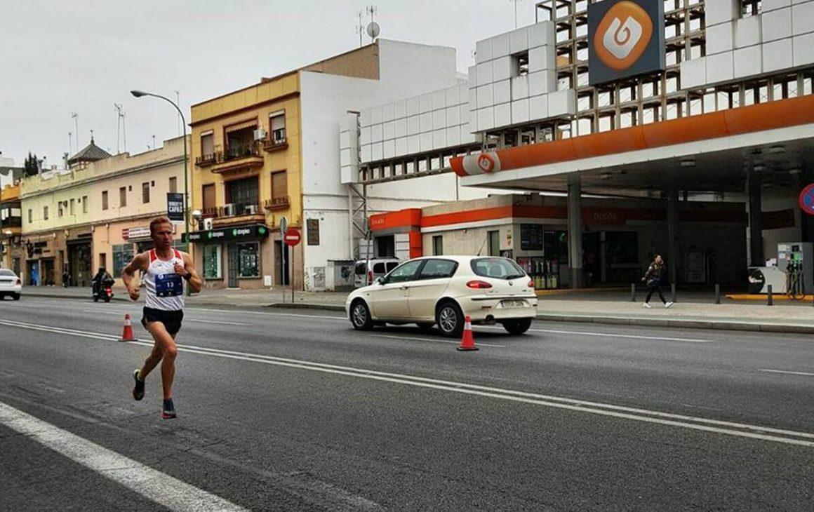 """Atletul Marius Ionescu, pe locul al 11-lea la """"Zurich Maraton de Sevilla""""!"""