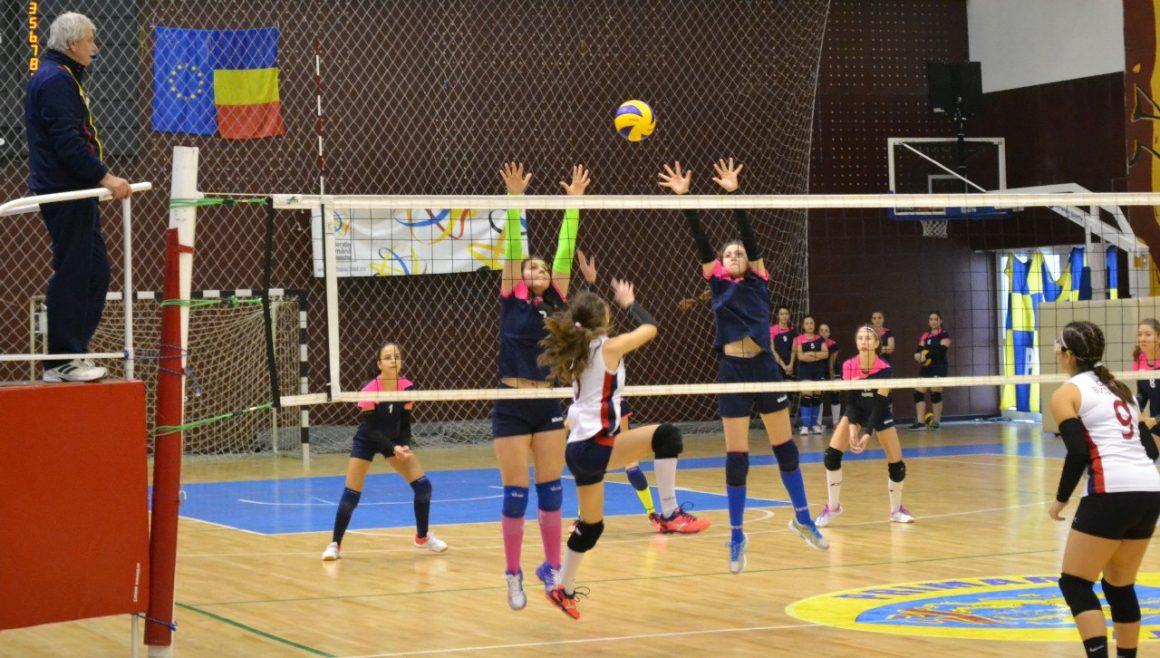 """Echipa de volei speranţe, trei înfrângeri în turneul din Sala """"Olimpia""""!"""