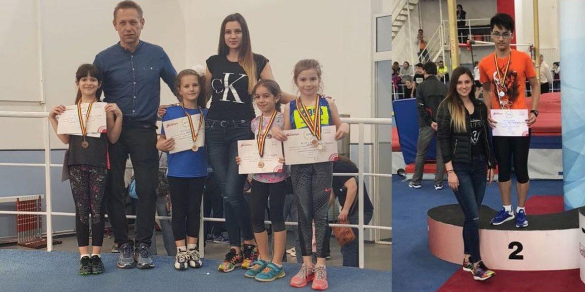 Atleţii de la CSM Ploieşti, de trei ori pe podium la Campionatele Naţionale de Copii 1, 2 şi 3!