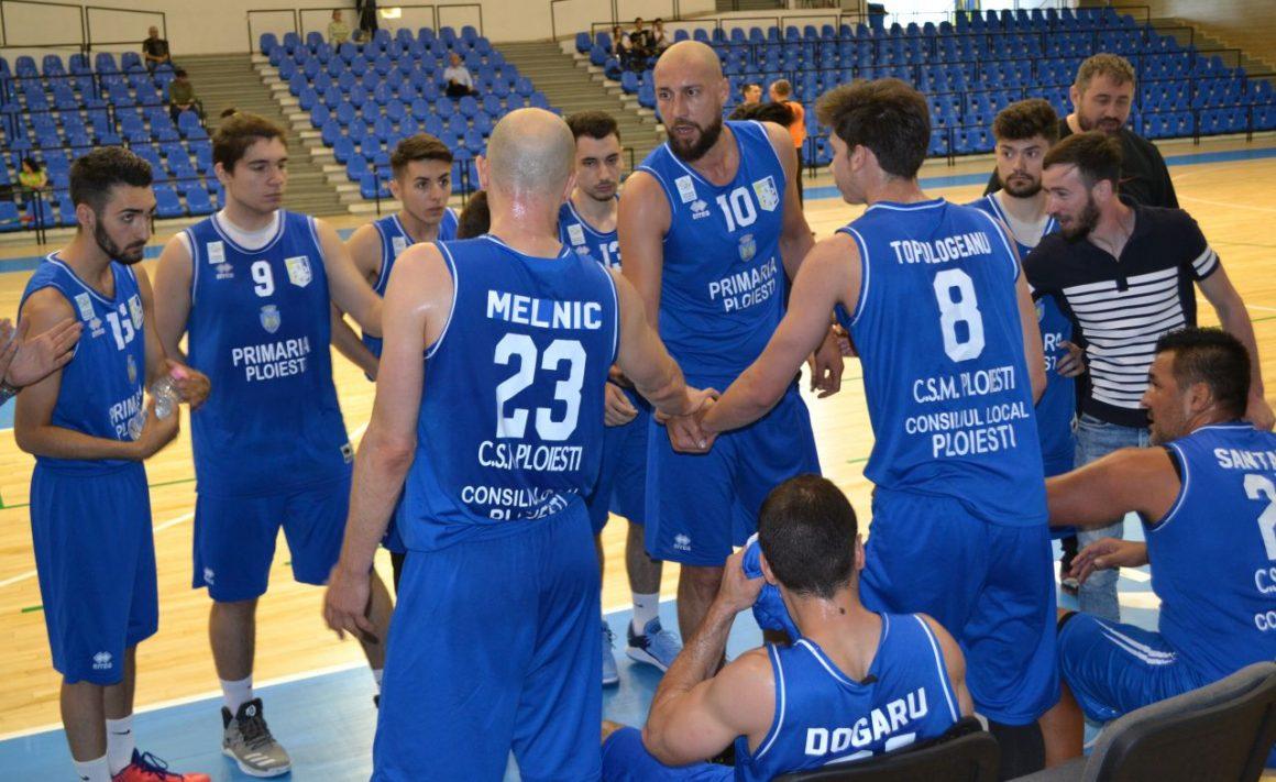 Echipa de baschet masculin încheie pe locul 5 Faza semifinală!