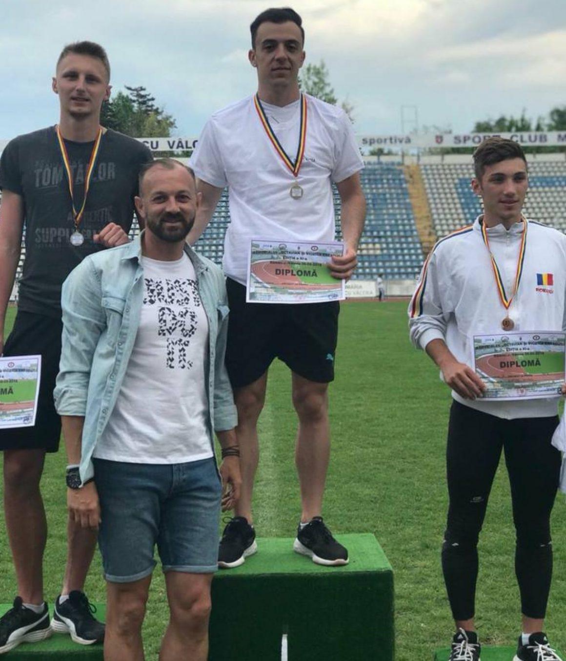 """Atleţii de la CSM Ploieşti au dominat Memorialul """"Octavian şi Viorica Enescu""""!"""