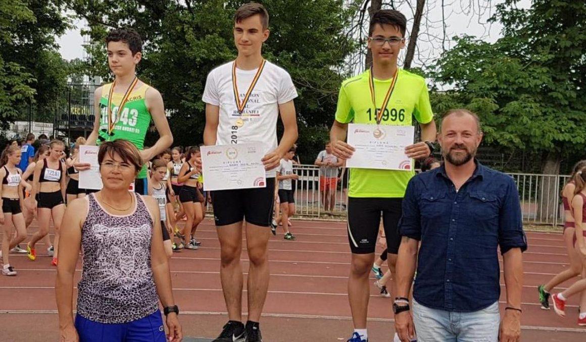 Micii atleţi de la CSM Ploieşti, două medalii la Finala Campionatelor Naţionale de Copii 1, 2 şi 3!