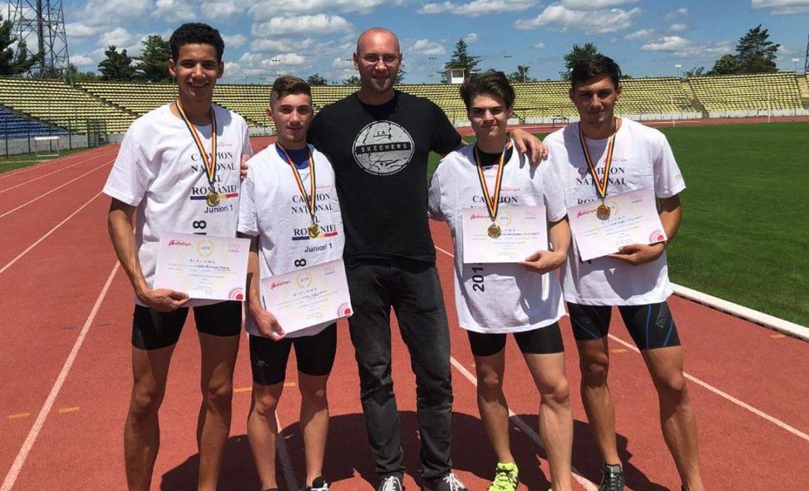 CSM Ploieşti, 4 medalii la Campionatului Naţional de Atletism pentru Juniori 1!