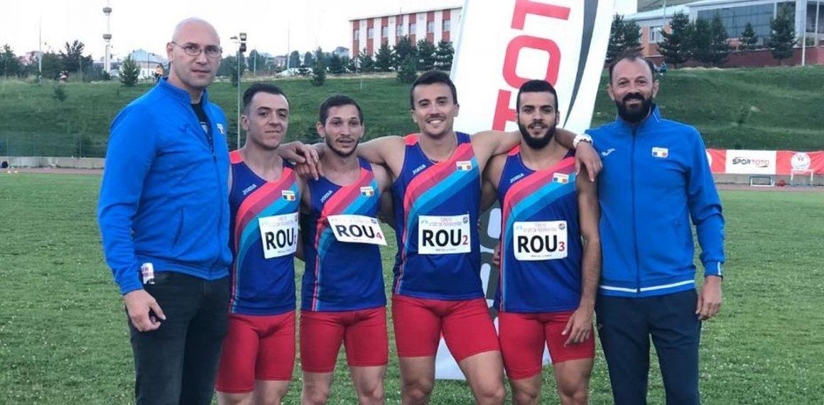 Atleţii de la CSM Ploieşti, argint şi bronz la Campionatul Balcanic de Ştafete, de la Erzurum!