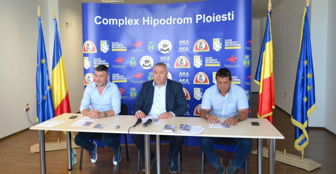 Conferinţă de presă: perspective interesante pentru Hipodromul Ploieşti!