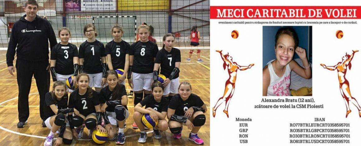 """Sâmbătă, 6 octombrie, eveniment caritabil în Sala """"Olimpia"""": volei pentru Alexandra!"""