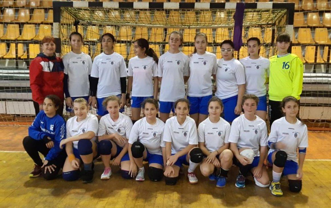 Weekend plin pentru cei mai mici handbalişti de la CSM Ploieşti!