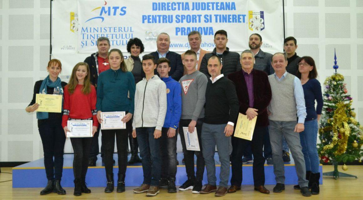 Sportivii şi antrenorii de la CSM Ploieşti cu performanţe în 2018, premiaţi de DJST Prahova!