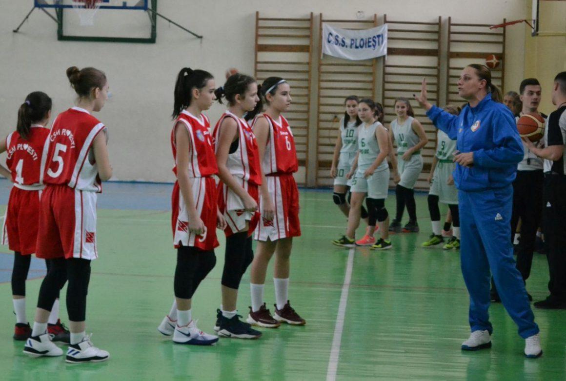 """Echipa de baschet fete """"U13"""", la prima înfrângere a sezonului!"""