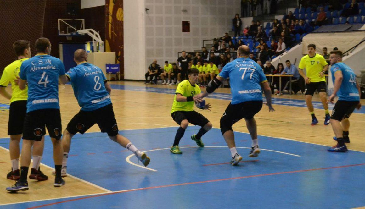 Bilanţ la indigo la handbal juniori: o victorie şi trei înfrângeri!
