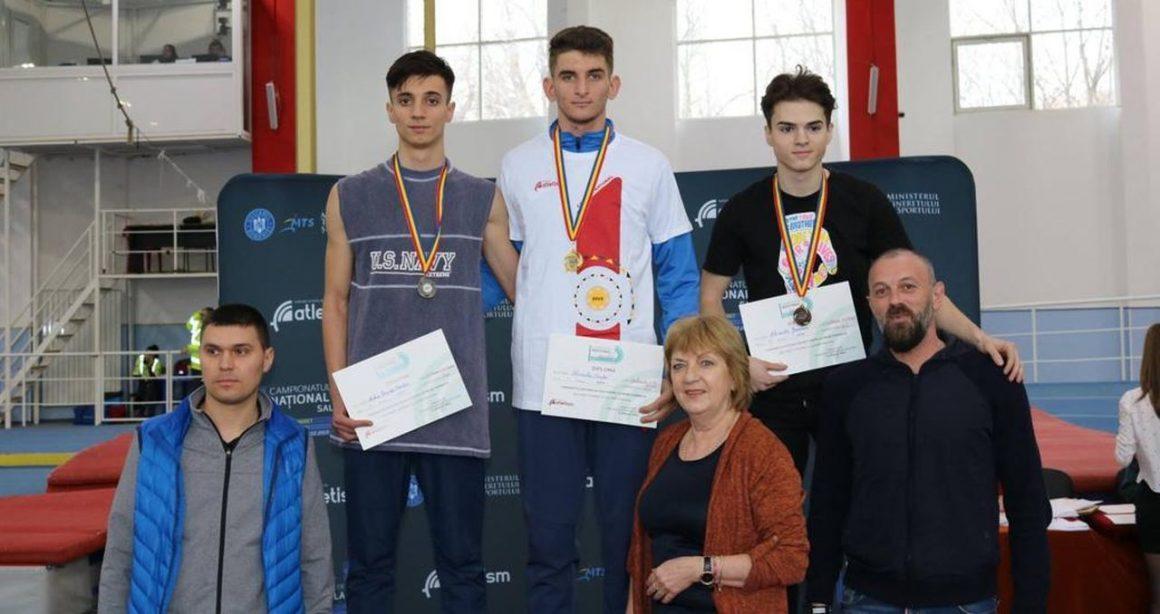 Atletul Alexandru Geamănu, medalie de bronz la Campionatele Naţionale de Juniori 1!