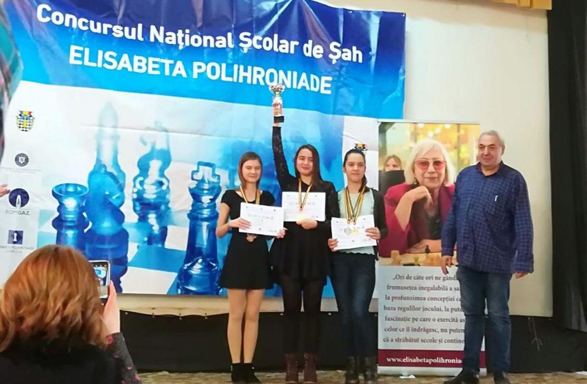 """Anamaria Raţă, 4 medalii la Concursul Naţional Şcolar de Şah """"Elisabeta Polihroniade""""!"""