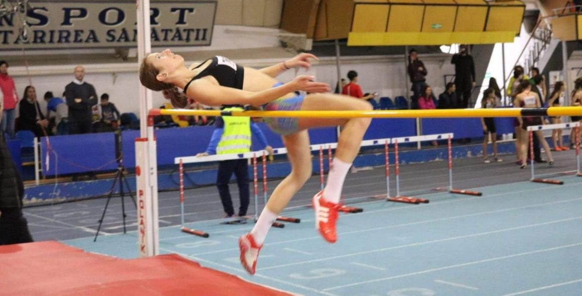 Atletism, juniori 3: Teodora Iancu a devenit campioană naţională la săritura în înălţime!
