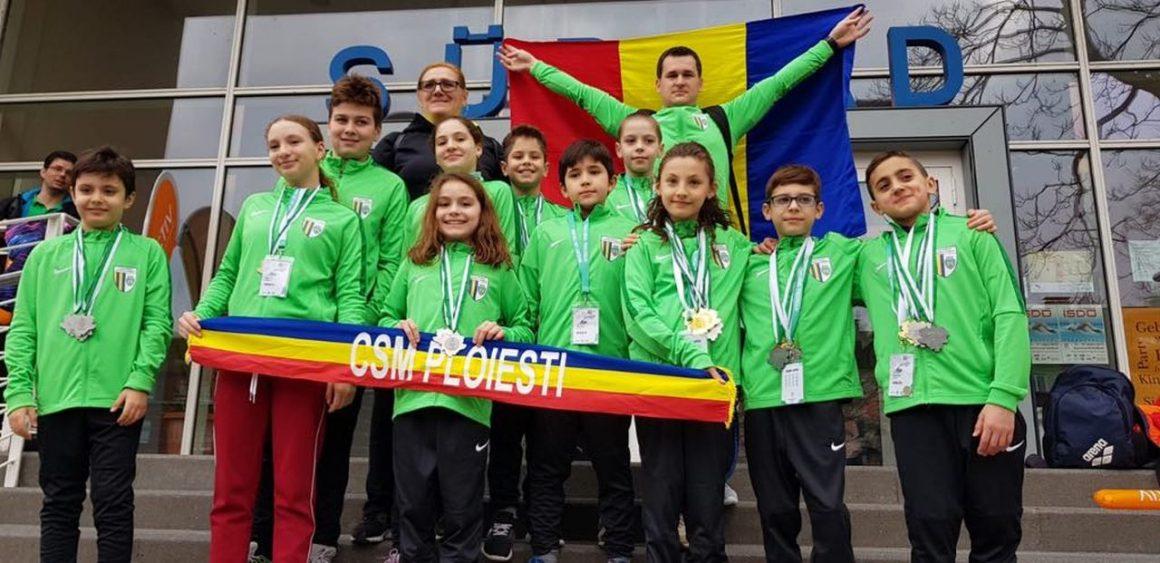 """Înotătorii de la CSM Ploieşti, 51 de medalii la """"Swim Race Days Dortmund""""!"""