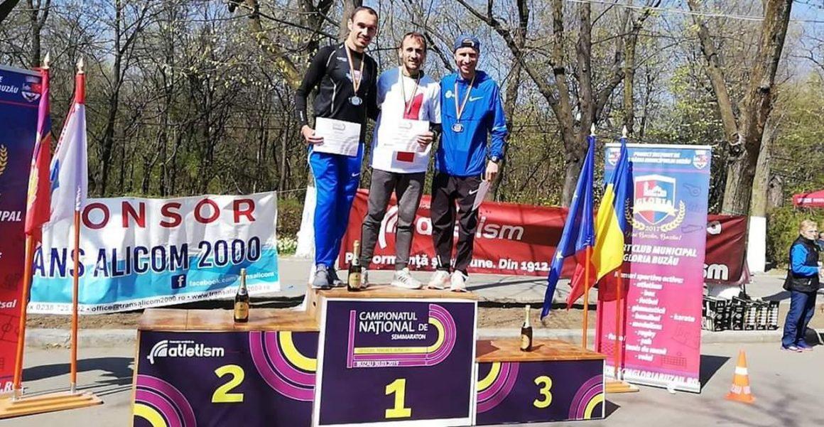 Marius Ionescu, medaliat cu bronz la Campionatul Naţional de Semimaraton pentru Seniori!