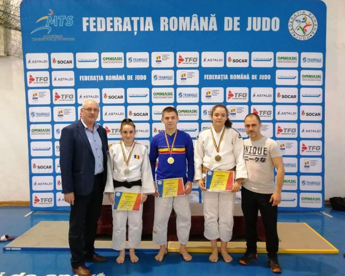 """Judoka de la CSM-CFR-CSŞ Ploieşti, trei medalii la Finala Campionatelor Naţionale """"U23""""!"""