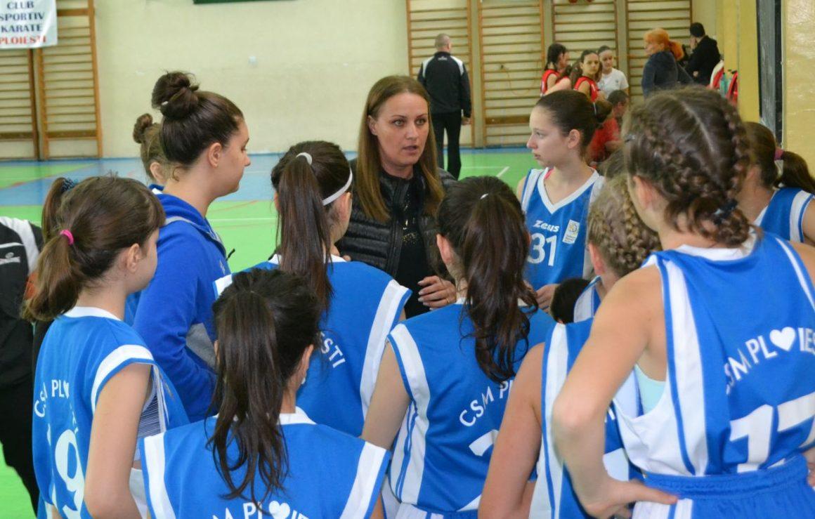 Echipa de baschet U13 a CSM Ploieşti va lupta mâine pentru medaliile de bronz!