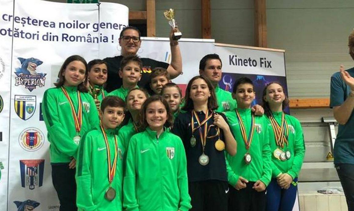 Înotătorii de la CSM Ploieşti, 34 de medalii la Cupa Ligii performanţei în nataţie!
