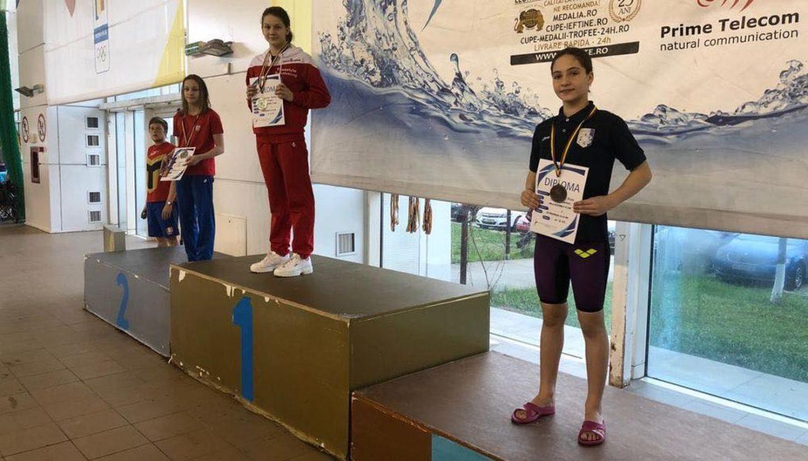 Trei înotători de la CSM Ploieşti, calificaţi pentru etapa finală a Campionatului Naţional de Cadeţi!