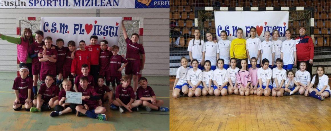 Echipele de minihandbal au participat la turneele Euroregiune Ro3!