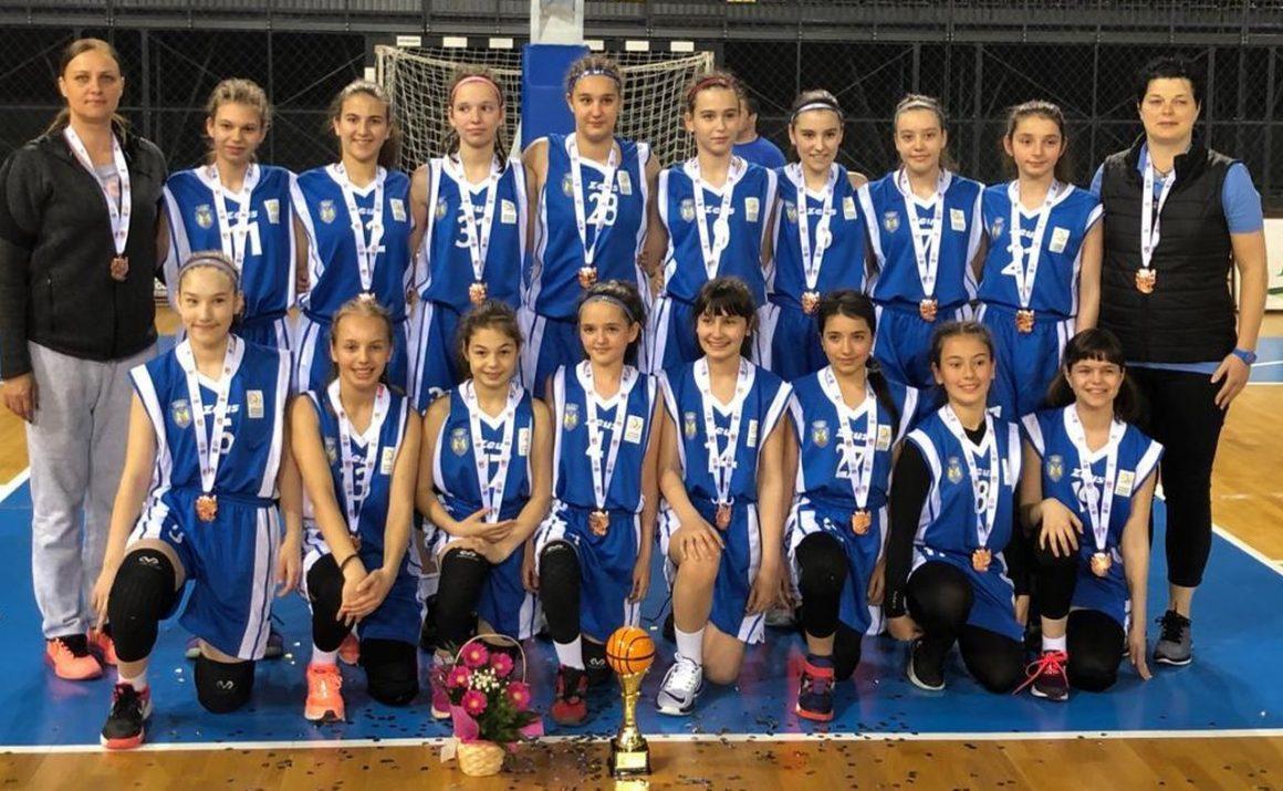 Fete de bronz! Echipa de baschet U13 a CSM Ploieşti, locul al 3-lea la Turneul final de la Sf. Gheorghe!