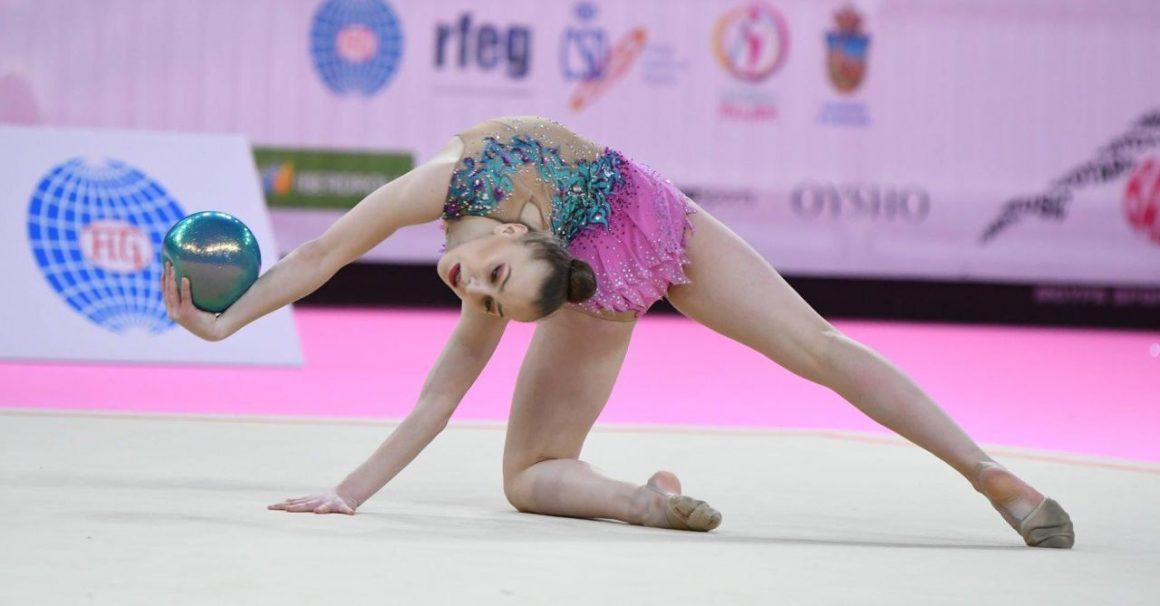 """Gimnasta Denisa Stoian, în progres: 59.850 puncte la """"World Challenge Cup""""!"""