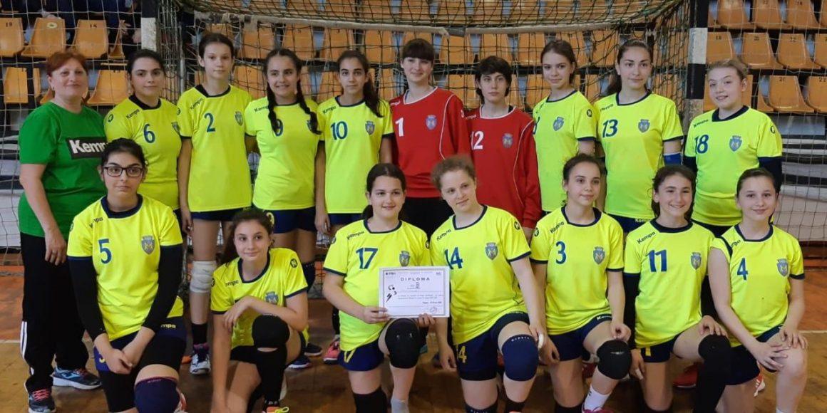 Echipa de handbal junioare 4 s-a calificat la Turneul final al campionatului!